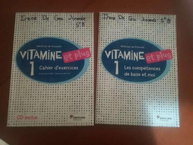 Imagen 2 libros francés activities 5° primaria