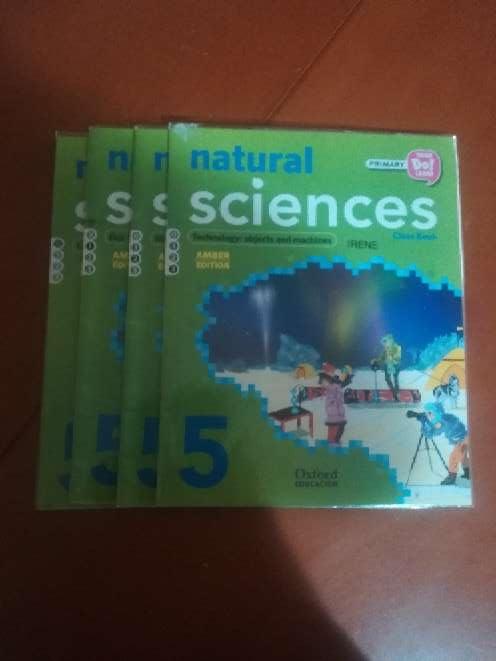 Imagen producto 4 libros de Natural Sciences 5° primaria Oxford  1