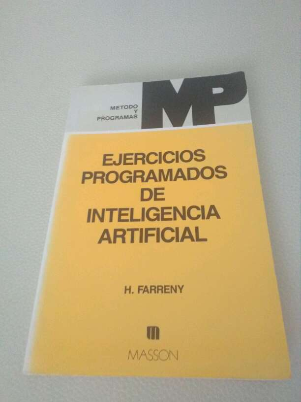 Imagen libro ejercicios programados de inteligencia artificial
