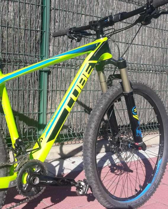 Imagen producto Bicicleta CUBE REACTION GTC SL 27.5