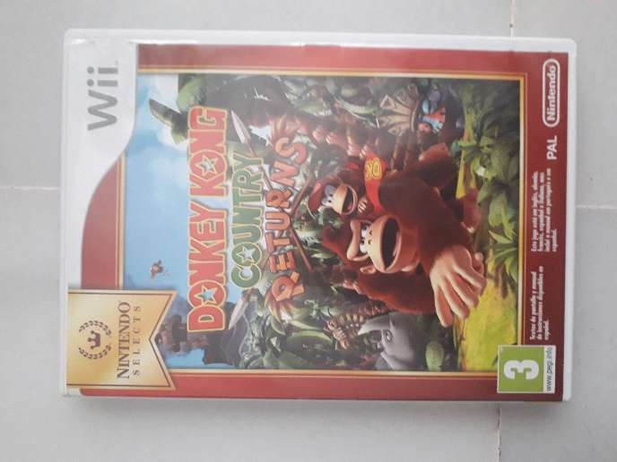 Imagen Donkey Kong Wii