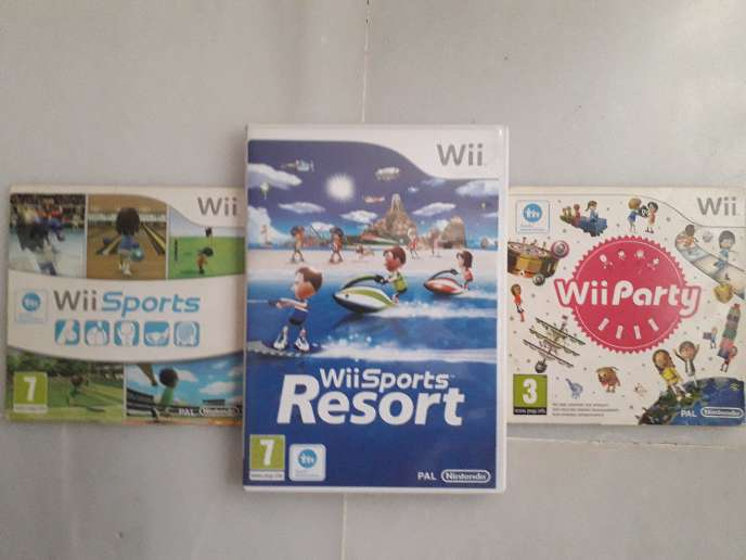 Imagen producto Pack Juegos Wii 1