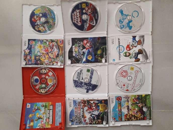 Imagen producto Pack Juegos Mario Wii 2