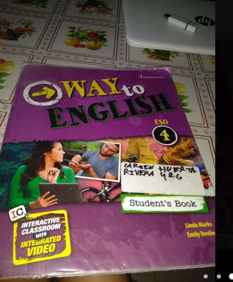 Imagen libro de inglés