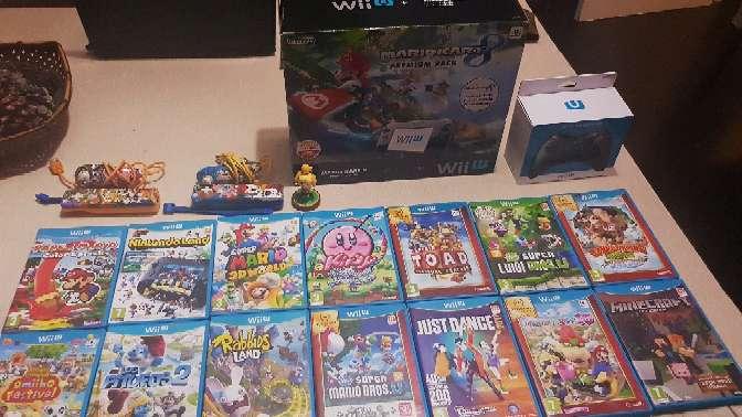 Imagen consola nintendo wii u premium pack + muchísimos juegos y extras