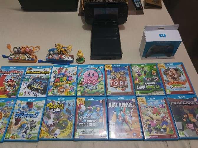 Imagen producto Consola nintendo wii u premium pack + muchísimos juegos y extras  3