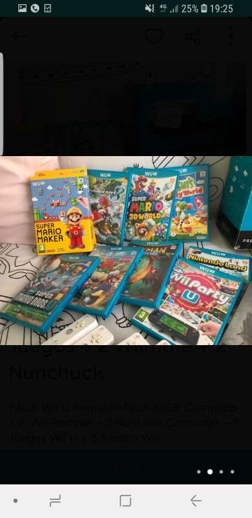Imagen producto Consola nintendo wii u premium pack + muchísimos juegos originales  2