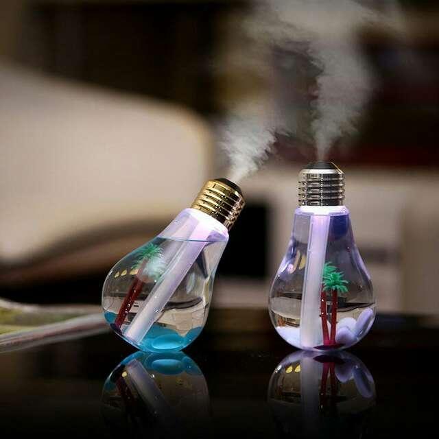 Imagen producto Humidificador/ Aromaterapia bombilla 2