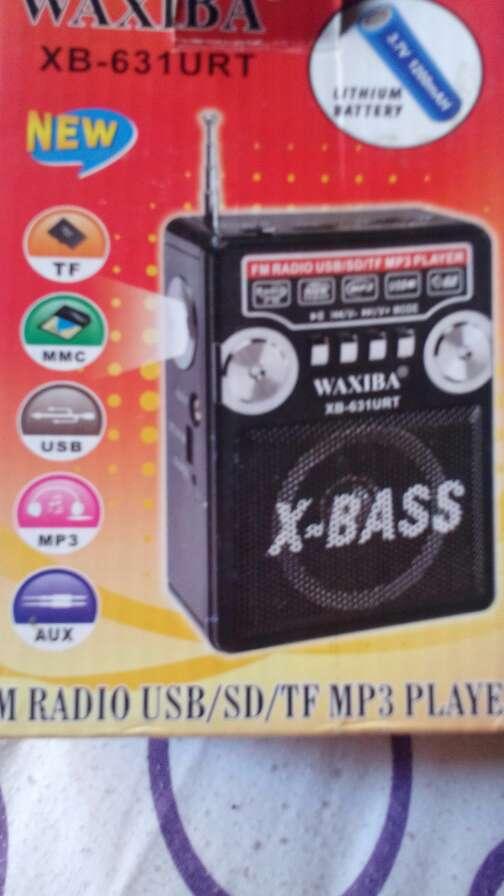 Imagen fm radio/USB/micro sd/mp3