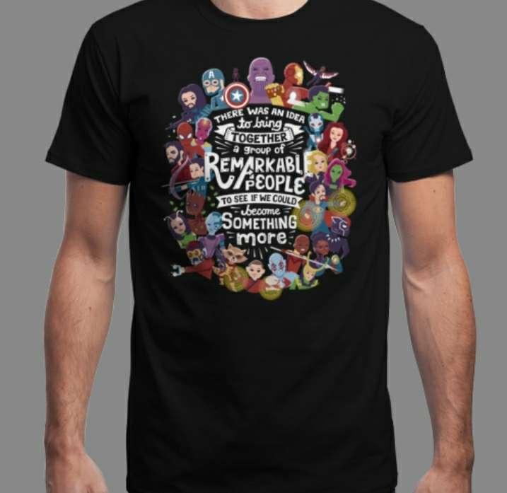 Imagen Camiseta Superheroes Hombre