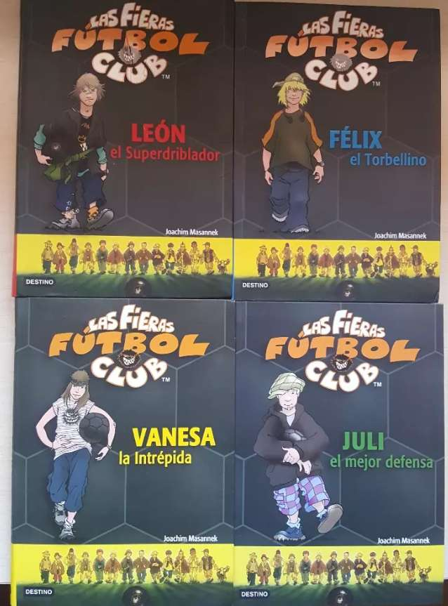 Imagen 4 libros de las fieras fc
