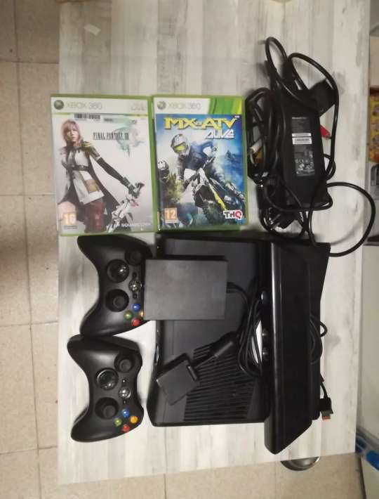 Imagen Xbox 360 con kinect