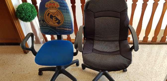 Imagen 2 sillas de escritorio