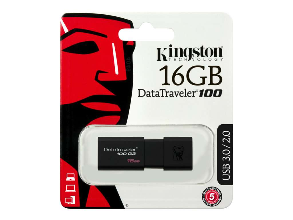Imagen pendrive Kingston 16 GB (envío gratis)