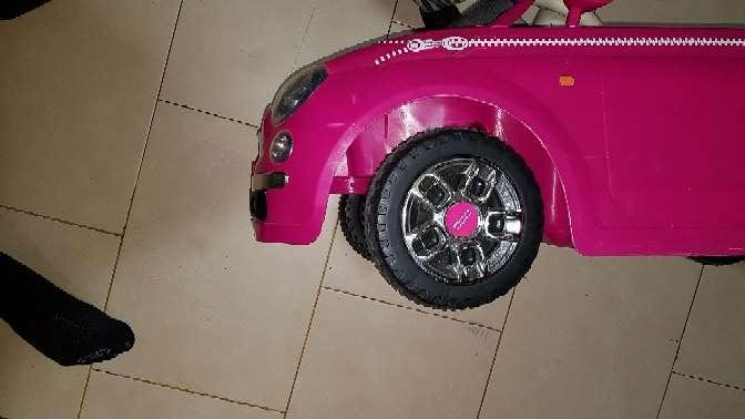 Imagen coche eléctrico para niña