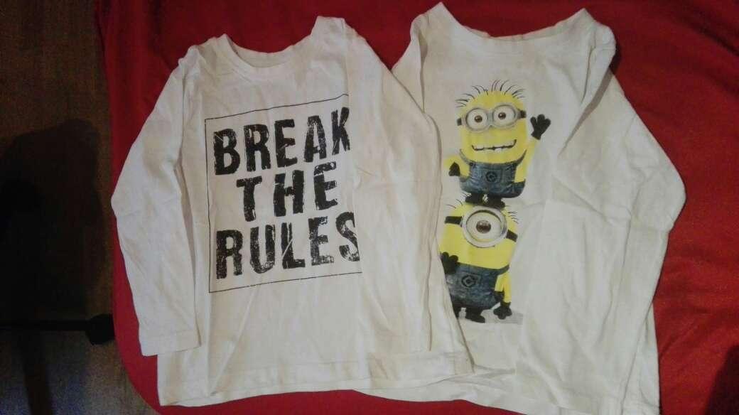 Imagen camisetas niño