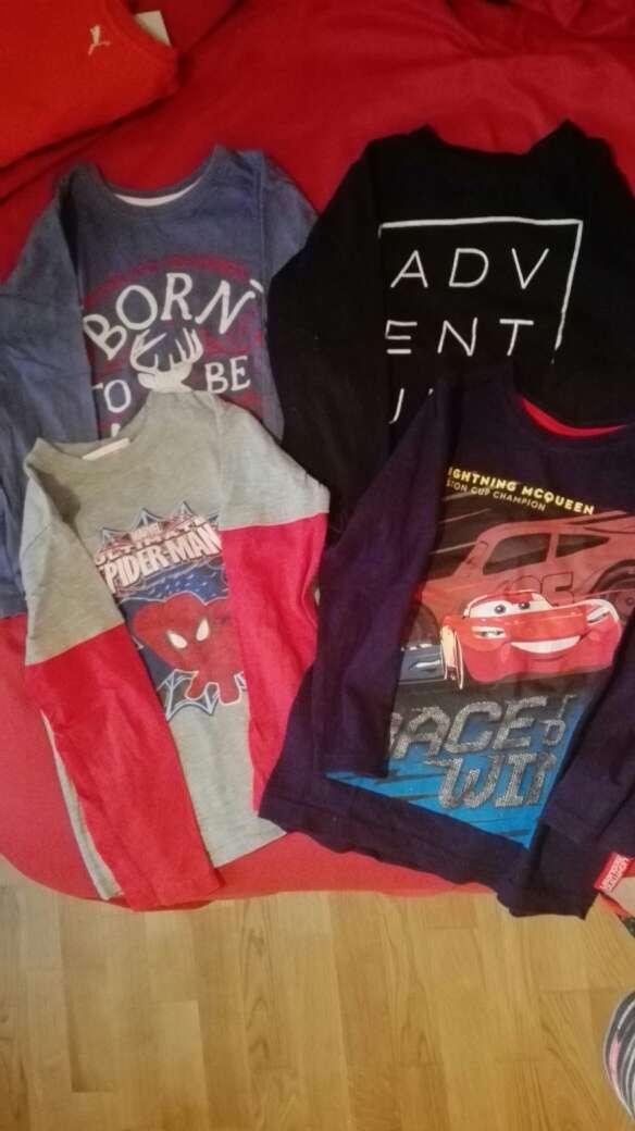 Imagen camisetas larga niño