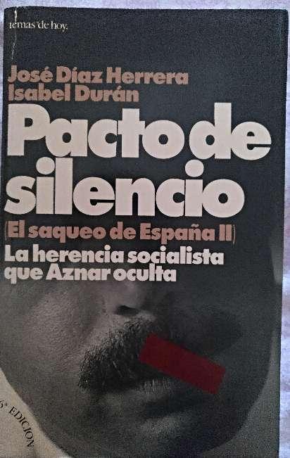 Imagen libro pacto de silencio