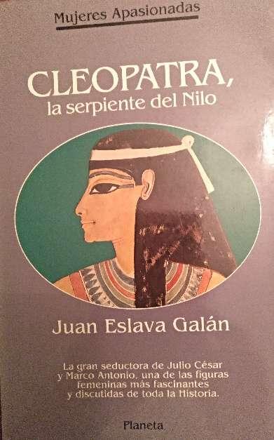 Imagen libro cleopatra, la serpiente del nilo
