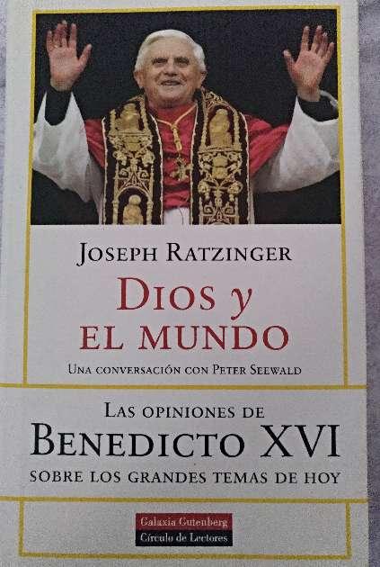Imagen libro dios y el mundo. joseph ratzinger