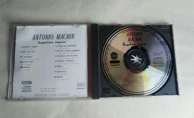 Imagen producto CD Antonio Machín. 2
