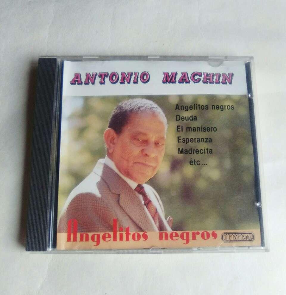 Imagen CD Antonio Machín.