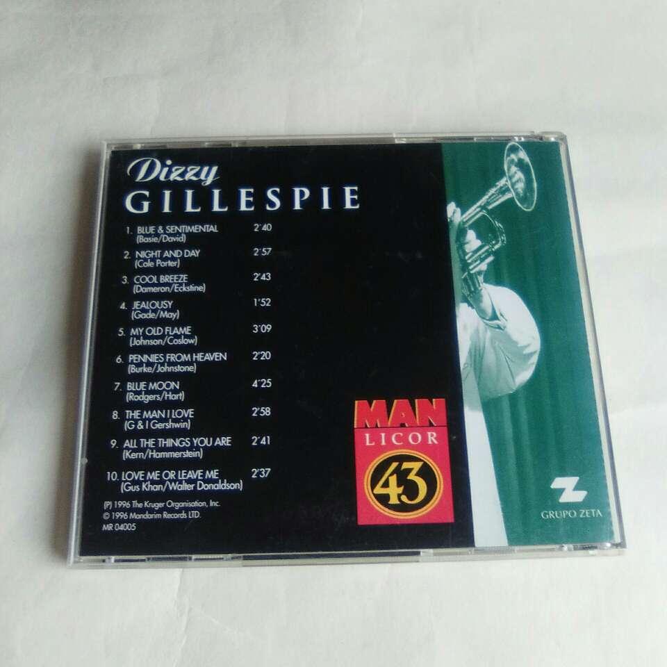 Imagen producto CD Dizzie Gillespie. 3