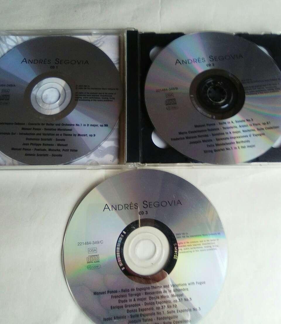 Imagen producto 3 CD de Andrés Segovia. 2