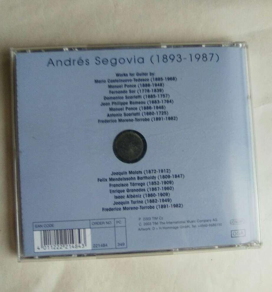 Imagen producto 3 CD de Andrés Segovia. 4