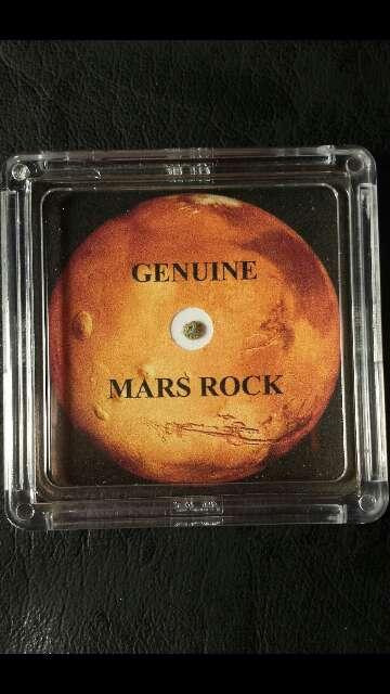 Imagen Meteorito del planeta Marte