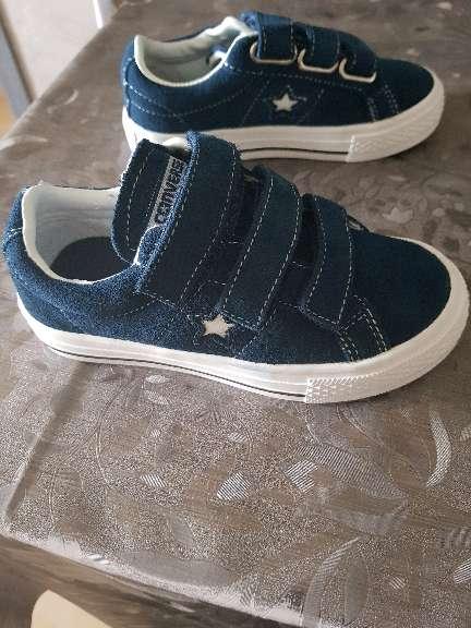 Imagen zapatilla Converse azul talla 28