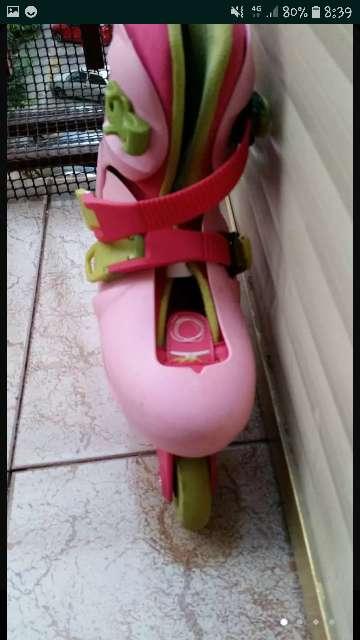 Imagen producto Patines rosas y verdes 4