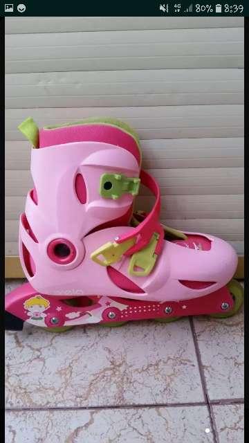 Imagen producto Patines rosas y verdes 3