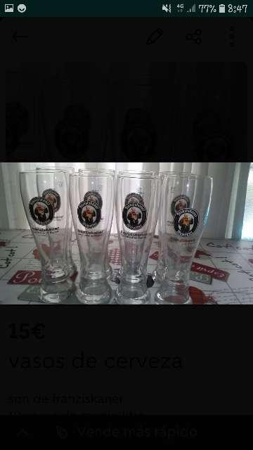 Imagen vasos de cerveza