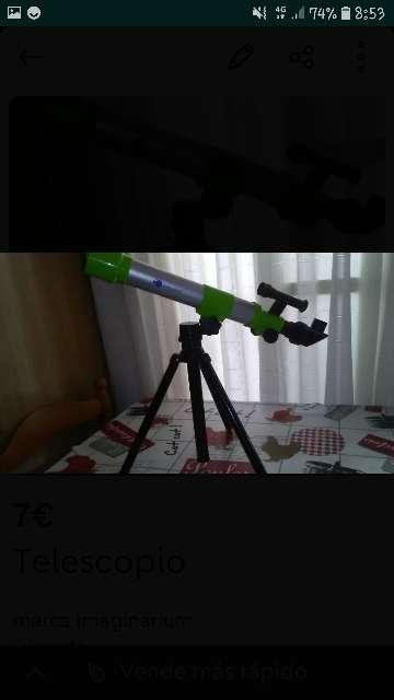Imagen telescopio niños