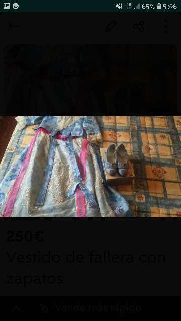 Imagen vestido de fallera
