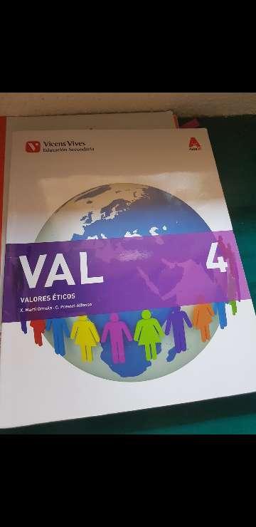 Imagen Valores eticos 4°