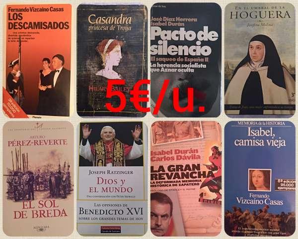 Imagen Varios Libros de historia y política.