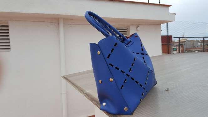 Imagen producto Ganga Bolso azul moderno  2