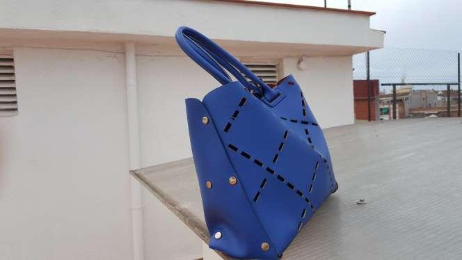 Imagen producto Ganga Bolso azul moderno  3