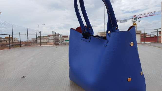 Imagen producto Ganga Bolso azul moderno  4