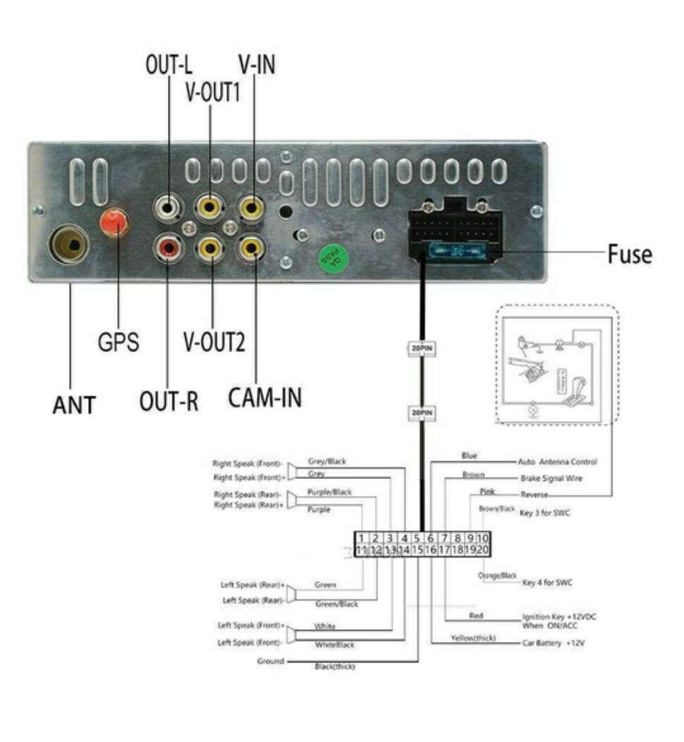 Imagen producto Radio multimedia pantalla hd de 7 con gps  3