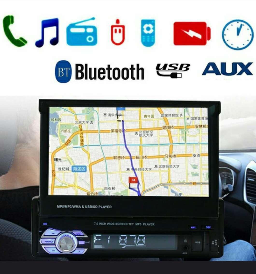 Imagen radio multimedia pantalla hd de 7 con gps