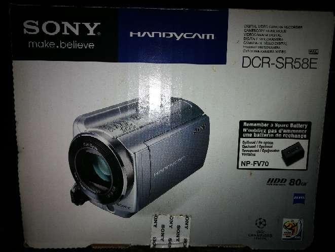 Imagen video cámara digital Sony