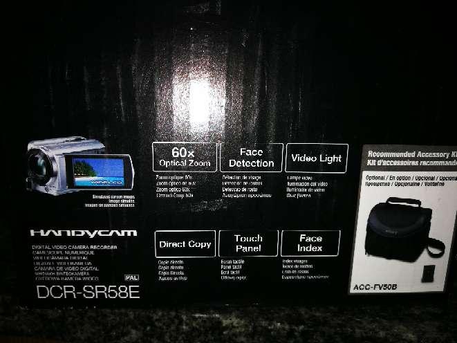 Imagen producto Video cámara digital Sony 3
