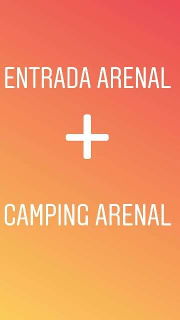 Imagen Entrada  festival ARENAL