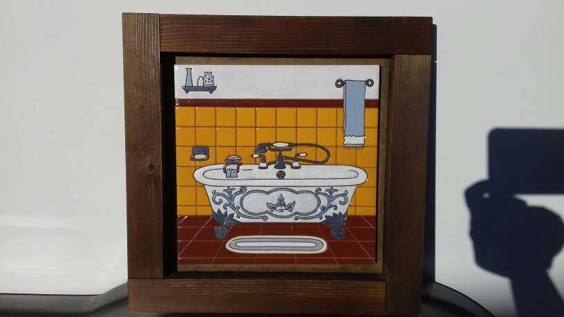 Imagen cuadro ceramica para baño