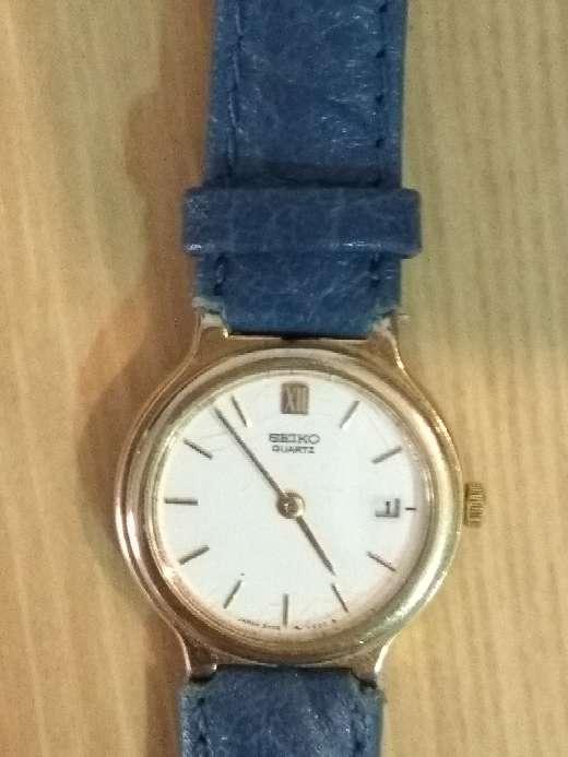 Imagen reloj Seiko oro de mujer