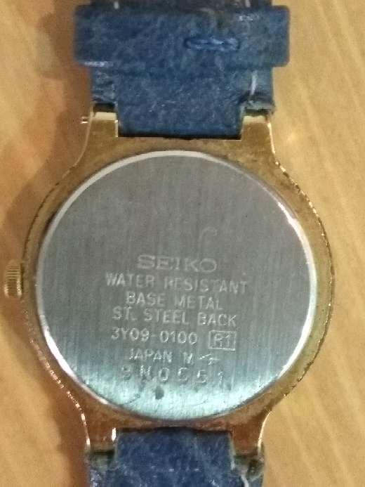 Imagen producto Reloj Seiko oro de mujer 3