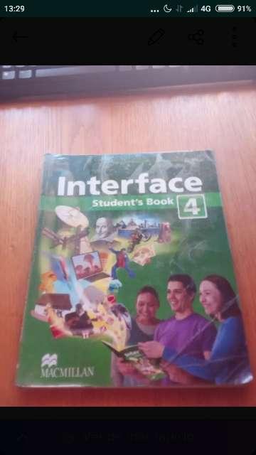Imagen libro Interface inglés 4°eso